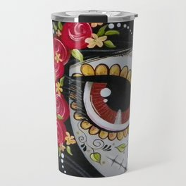 Frida Day Of The Dead Travel Mug