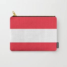 Austrian National flag - authentic version (High quality image) Carry-All Pouch