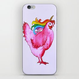 Conchita The Unicorn Chicken iPhone Skin