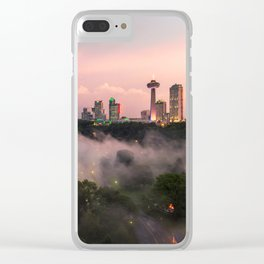 NIAGARA FALLS 14 Clear iPhone Case
