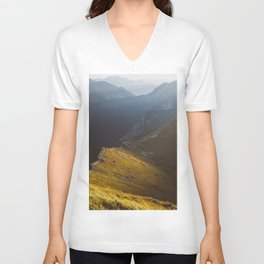 Just go - Landscape and Nature Photography Unisex V-Neck