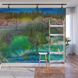 A Walk with Trees Wall Mural