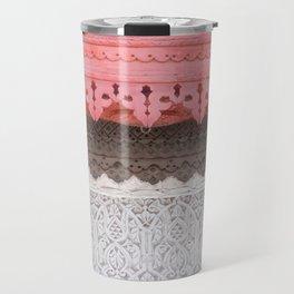 Pink Al Balad Coral House Travel Mug