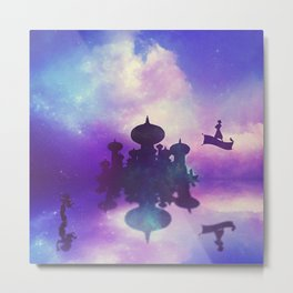 Aladdin Metal Print