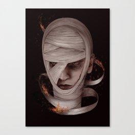 Watch me burn Canvas Print