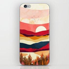 Scarlet Spring iPhone Skin