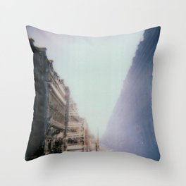 Paris Surréaliste Throw Pillow