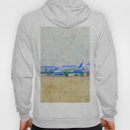 SunExpress Boeing 737-800. The smurfs..... the lost village Hoody
