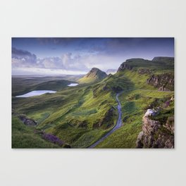 The Road to the Quiraing Canvas Print
