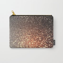 Tortilla brown Glitter effect - Sparkle and Glamour Carry-All Pouch