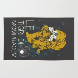 Books Collection: Sandokan, The Tigers of Mompracem Rug