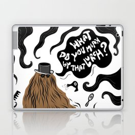 Cousin Itt (Addams Family) Laptop & iPad Skin