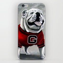 UGA Georgia Bulldogs Mascot iPhone Skin
