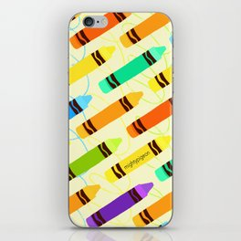 doodler iPhone Skin