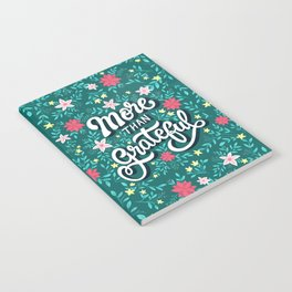 More than Grateful Notebook