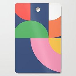 Abstract Geometric 16 Cutting Board