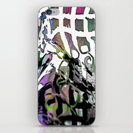 Distortion of the line iPhone Skin