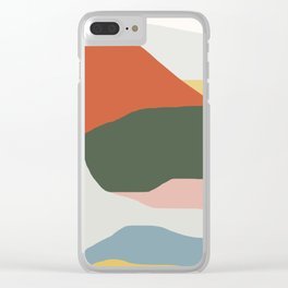 Mountains of Colors Clear iPhone Case