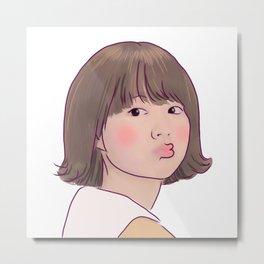 KISSY STRONG GIRL BONG SOON Metal Print