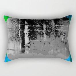 Color Chrome - B/W graphic Rectangular Pillow