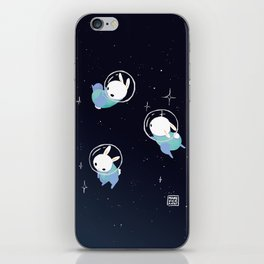 Space Bunnies iPhone Skin