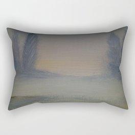 Winter tranquility Rectangular Pillow