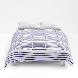 Mariniere marinière – classical pattern 2 Comforters