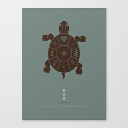 Lo Shu Turtle Canvas Print