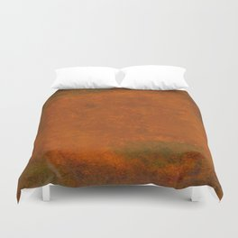 Weathered Copper Texture Duvet Cover