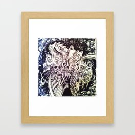 thought untitled  Framed Art Print