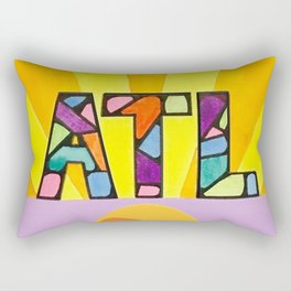 Atlanta Sunburst Rectangular Pillow