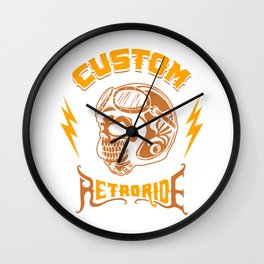 Custom RetroRide Wall Clock
