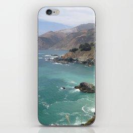 Big Sur Cali waters iPhone Skin