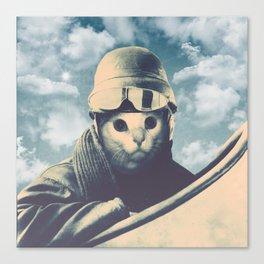 Flight Cat Canvas Print