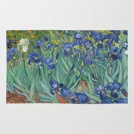 Irises Rug