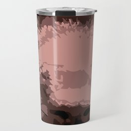 Hot chocolate labrador puppy Travel Mug
