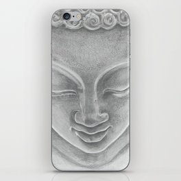 Quiet Buddha iPhone Skin