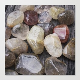 Venus' Hair Stone Rutilated Quartz #2 Canvas Print