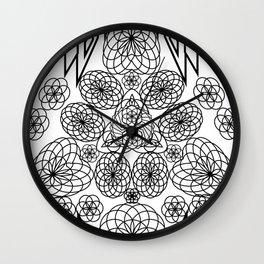 Sacred Trifecta Wall Clock