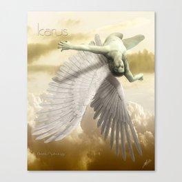 Icarus Myth Canvas Print
