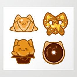 bakery kitties Art Print
