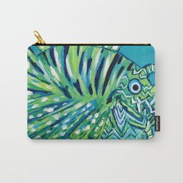 Lion Fish 1, a pretty predator Carry-All Pouch