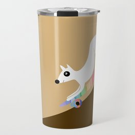 Skate dog Travel Mug