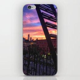East Village Summer Sunset iPhone Skin
