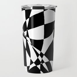 abstract design by David F Horton Travel Mug
