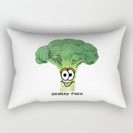 Healthy Brokoli Rectangular Pillow