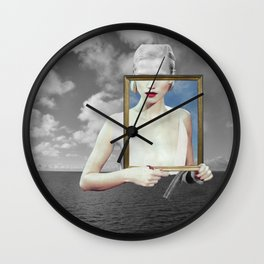 atmosphere ·  dreamcircle Wall Clock
