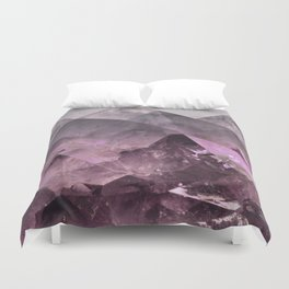 Quartz Mountains Duvet Cover