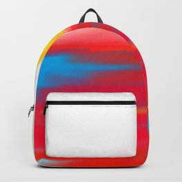 Sketchy Sun and Sea. Sunset and Sunrise Sketch Backpack