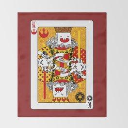 King of Toys Throw Blanket